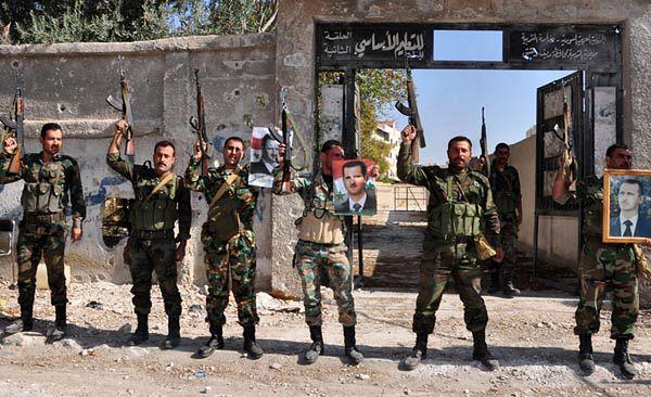 Żołnierze syryjscy