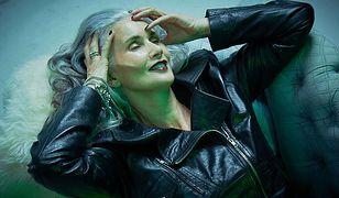 Na modeling nigdy nie jest za późno. 55-latka w kampanii Anny Scholz