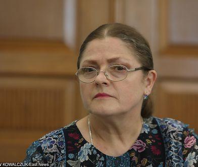"""Mocne słowa o Krystynie Pawłowicz. """"Należy ją zamknąć i związać"""""""