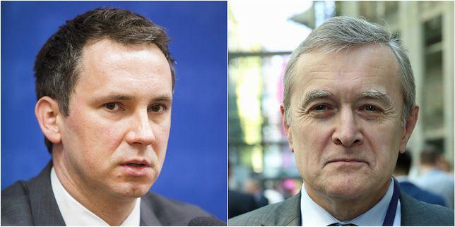 Od lewej: Radosław Śmigulski, Piotr Gliński