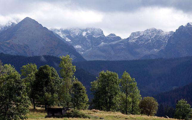 W Tatrach spadł śnieg