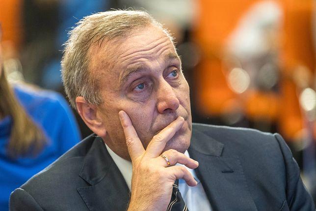 """Grzegorzowi Schetynie nie udało się zebrać """"armii 100 tysięcy ludzi"""""""