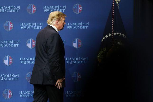 Donald Trump poniósł porażkę w Hanoi