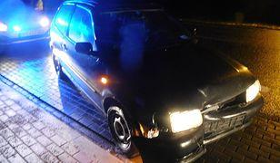 Podkarpacie. 43-letni kierowca zasnął na środku drogi krajowej