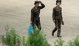 Żołnierki w Korei Płn. w 2015 r.