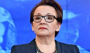 Minister pojawiła się w warszawskiej szkole