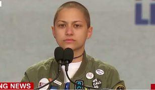 Emma Gonzalez przeżyła strzelaninę w szkole na Florydzie