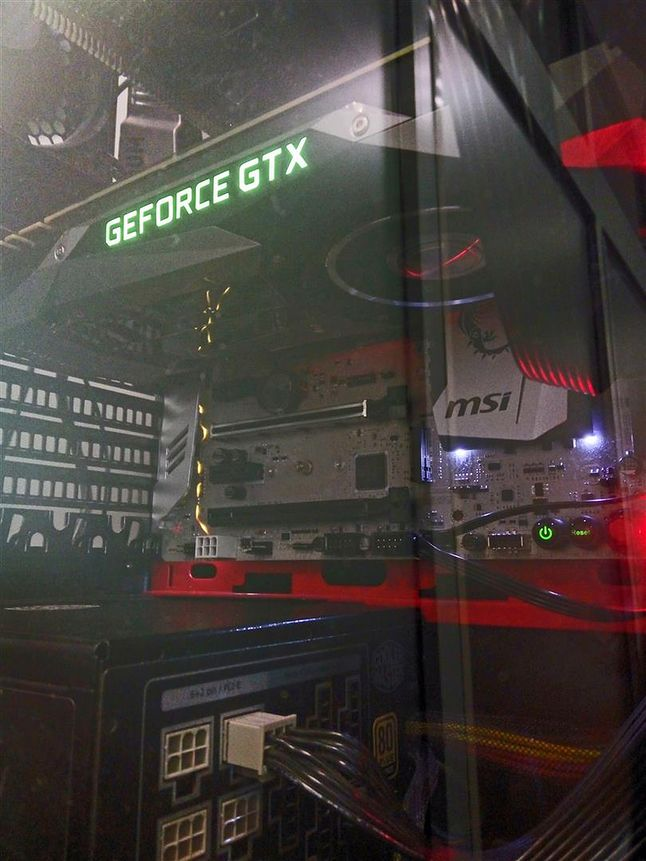 do wnętrza komputera