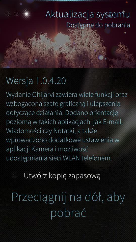 Sailfish OS wychodzi z fazy beta, aktualizacja 1.0.4.20 dostępna do pobrania!
