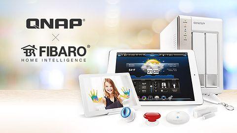 QNAP rozpoczyna współpracę z FIBARO