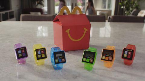 Dziecięce opaski fitness w McDonald's wycofane ze sprzedaży już po kilku dniach