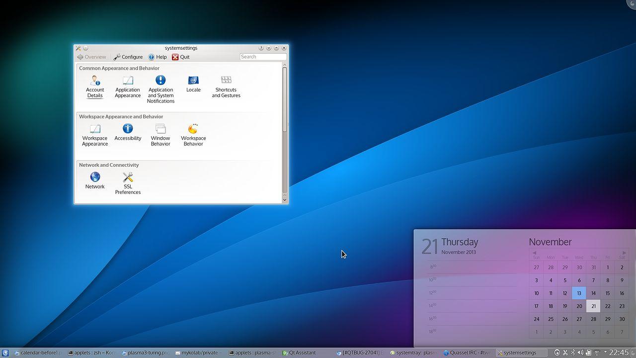 Nowa odsłona KDE (Frameworks 5, Plasma 2) zbliża się wielkimi krokami, zapowiada się rewelacyjnie