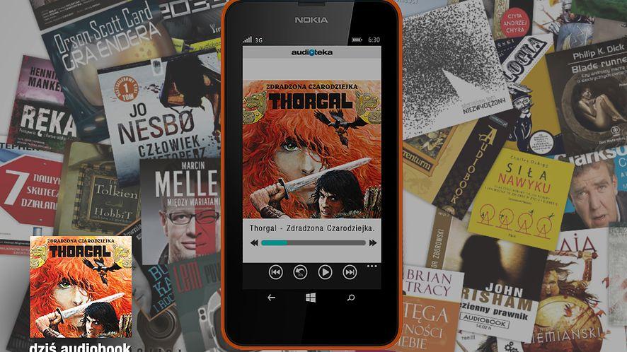 Thorgal – Zdradzona Czarodziejka: darmowy audiobook dla posiadaczy smartfonów Nokia Lumia