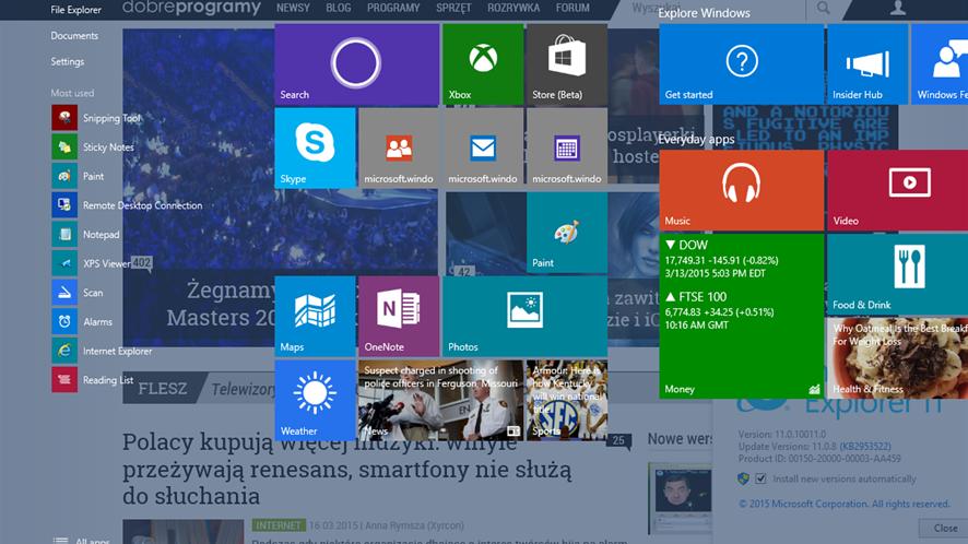 Windows Redstone już w przyszłym roku?