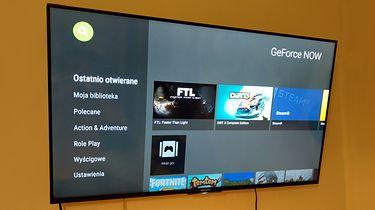 GeForce Now na każdym Android TV. Podpowiadamy, jak zmienić TV w konsolę - GeForce Now można zainstalować na dowolnym sprzęcie z Android TV (fot. Jan Domański, dobreprogramy)