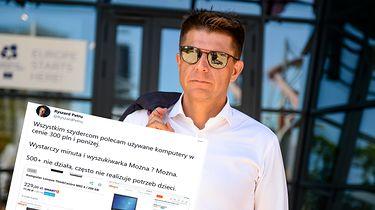 Ryszard Petru pokazuje, że są komputery do nauki zdalnej za 300 zł. Ręce mi opadły (opinia) - źródło: Getty Images