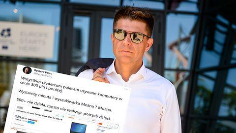 Ryszard Petru pokazuje, że są komputery do nauki zdalnej za 300 zł. Ręce mi opadły (opinia)