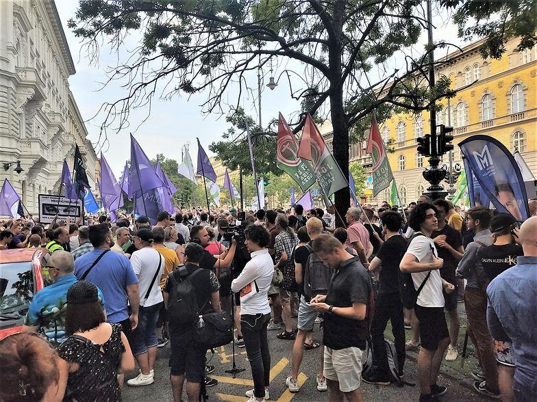 Węgrzy mają dość. Protest w Budapeszcie