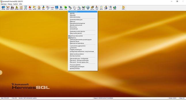 HermesSQL – przygotowanie techniczne.