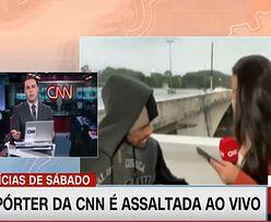 Dziennikarka CNN zaatakowana podczas wejścia na żywo. Napastnik z nożem