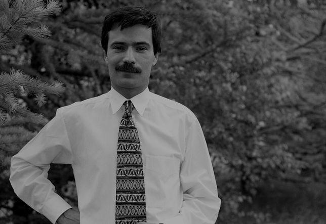 Krzysztof Leski był dziennikarzem radiowym i telewizyjnym [zdj. archiwalne, czerwiec 1996 r.]