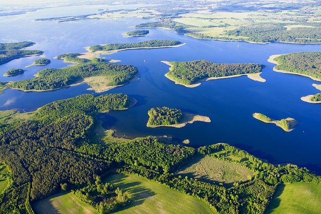 Największe jeziora Mazur