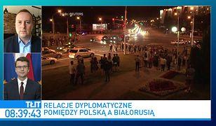 Białoruś. Rzecznik rządu: Donald Tusk mógłby pomóc Polsce