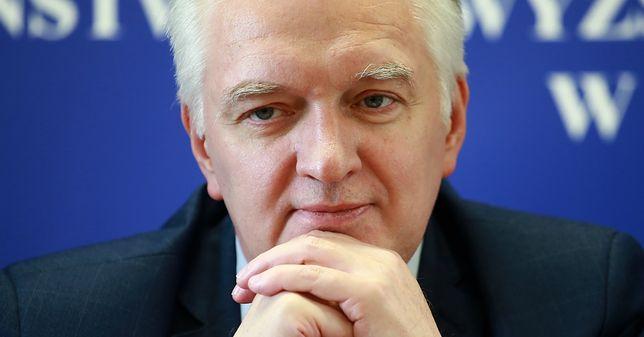 """Zaskakujący wpis Jarosława Gowina. Tak tłumaczy się z zarzutów o """"brak kręgosłupa"""""""