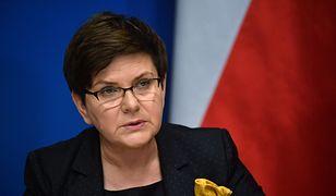 Beata Szydło ws. Marii Szonert-Biniendy: oczekuję szybkiej decyzji szefa MSZ