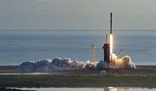 SpaceX - rakieta Falcon 9 startuje w ramach jednej ze swoich misji
