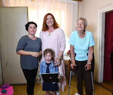 Katarzyna Dowbor pomogła potrzebującej rodzinie