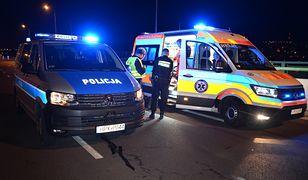 Tragedia na S8 na Podlasiu. Nie żyje jedna osoba