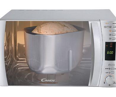 Kuchenka mikrofalowa do pieczenia chleba