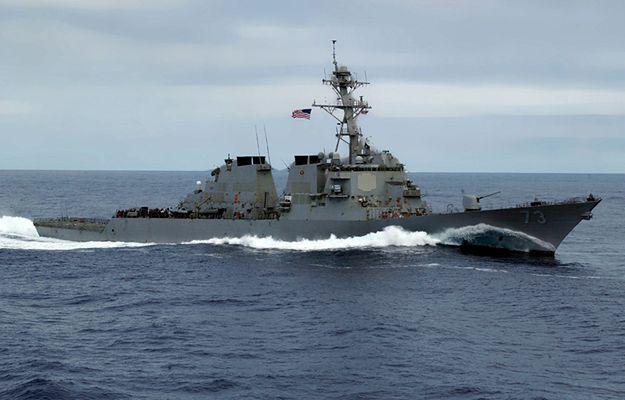 Okręt USA na Morzu Południowochińskim, Chiny protestują