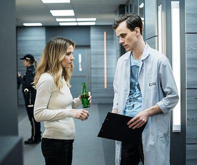 """Joanna Koroniewska gra w serialu """"Ślad"""""""