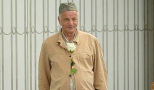 Senator PO Jan Rulewski w więziennym drelichu