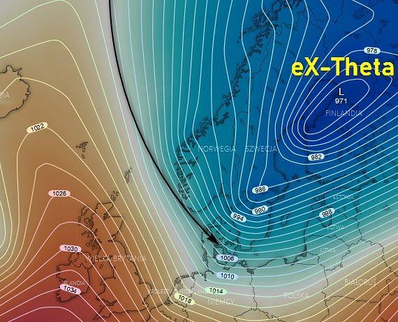 Pogoda. Przed weekendem początek spływu zimnego powietrza nad Polskę