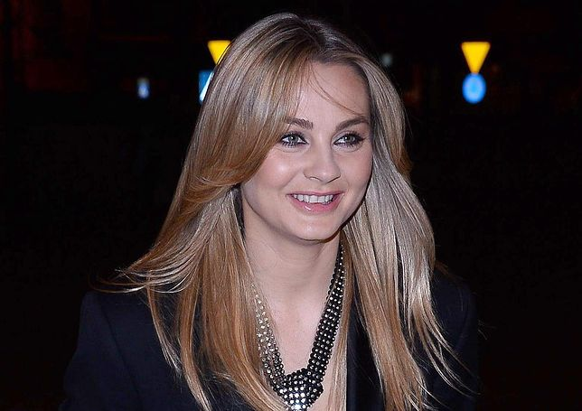Małgorzata Socha na jednej z imprez branżowych