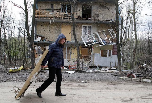 Ostrzał Krasnohoriwki na wschodzie Ukrainy. Osiem osób rannych