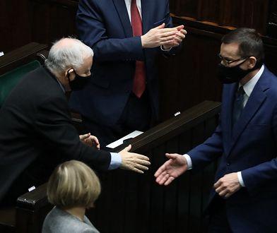 """Mateusz Morawiecki mówił w Sejmie tylko do jednej osoby. """"Wkradał się w łaski"""""""