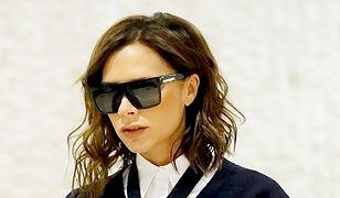 Victoria Beckham wiecznie w ciemnych okularach – dlaczego?
