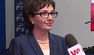Elżbieta Witek o Sikorskim: konsekwencje także polityczne
