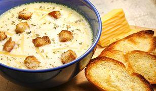 Zupa z pieczonego mięsa i kulki z herbatników. Pysznie i tanio