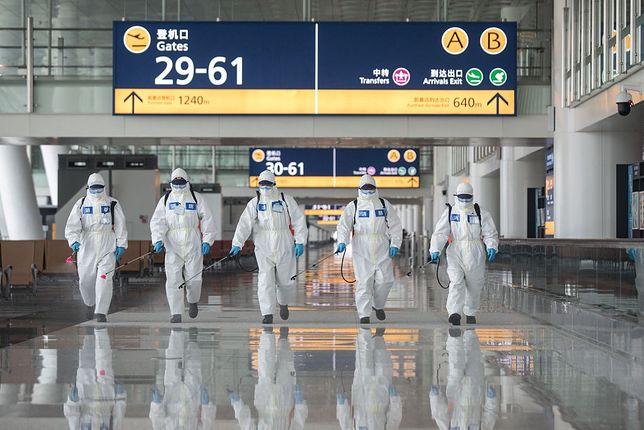 Lotnisko w Wuhan zostało otwarte po 76 dniach, wcześniej zostało poddane szczegółowej dezynfekcji