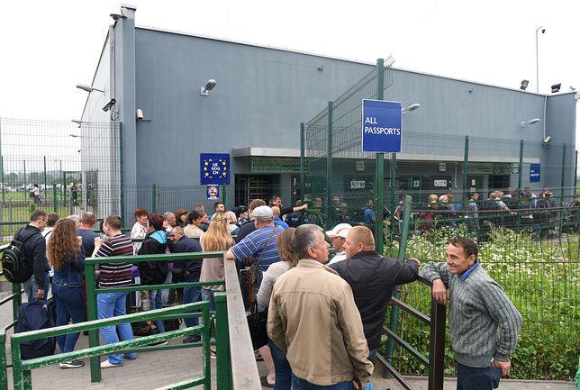 Przejście graniczne Medyka-Szeginie. Rocznie odprawianych jest tam ponad 5 mln podróżnych.