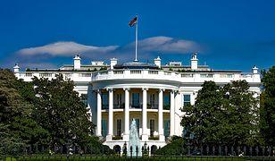 Widok na Biały Dom w Waszyngtonie