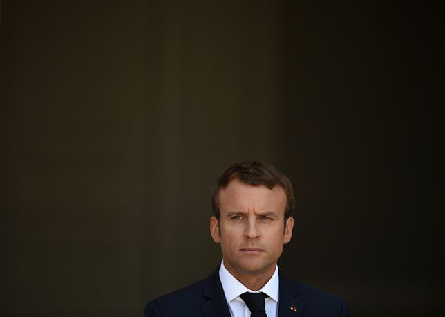 Kłopoty prezydenta Francji Emmanuela Macrona