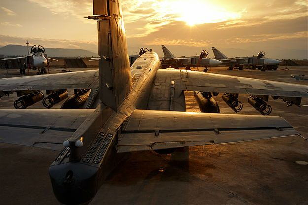 Rosyjskie lotnictwo w Syrii