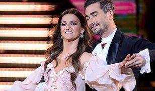 Joanna Mazur tańczy w parze z Janem Klimentem