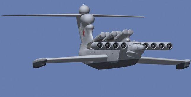Ekranoplan - dziwna broń rosyjskich inżynierów powraca